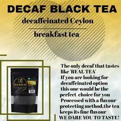 #tea #decaf #loosetea #trustea #decaffeinated #breakfast #healthy #blacktea #decaftea #ceylontea #fitness #healthylifstyle #healthyeating #cleaneating Decaf Tea, Premium Tea, Tea Brands, Breakfast Tea, Irish, Teas, Black, Irish Language, Black People