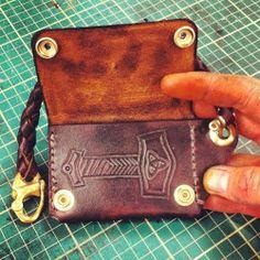 #mjolnir #thor #handmade #leather #wallet @taswrath
