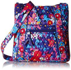 Vera Bradley Hipster Cross Body Bag, Impressionista, One Size *** Additional info @