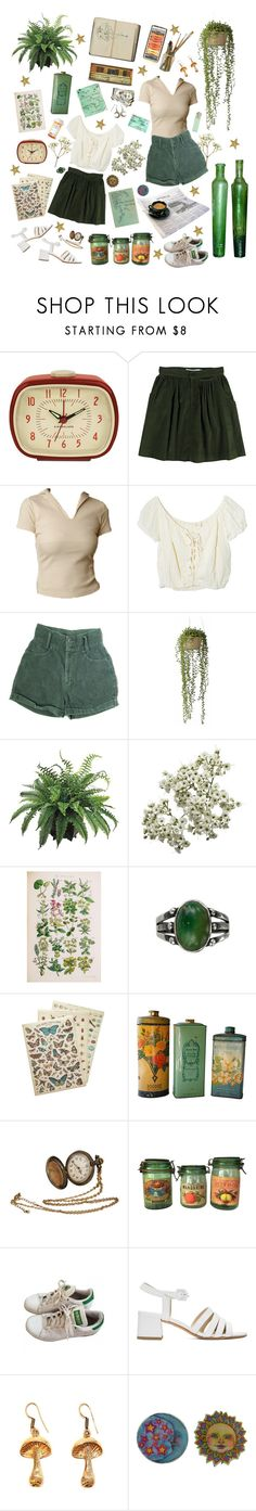 """""""You and me, we got our own sense of time"""" by lucia-fostr ❤ liked on Polyvore featuring Kikkerland, Opening Ceremony, Jens Pirate Booty, Wyld Home, Cavallini & Co., adidas, SELECTED, Maryam Nassir Zadeh and Urbiana"""