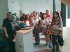 Con la asoc. Alas de Malaga en el II Encuentro de Poetas de Ahora en Algeciras.