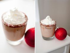 oh goodness.... the ladies @Bayside Bride have done it again! Candy Cane Mochas! YUM