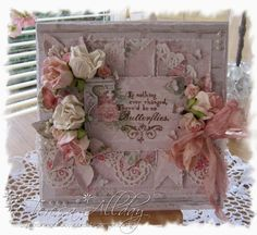 Scrap & Craft papers make gorgeous shabby cards