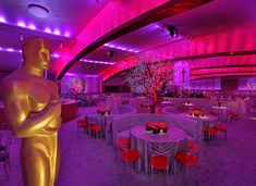Academy of Motion Picture Arts and Sciences Governors Ball | SocialTables.com | Event Planning Software