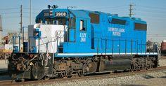 (SD38-2). Locomotive Leasing Partners (LLPX)#2808