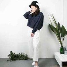 ได้ลุคสวยแบบแคชชวล เรียบง่าย แต่ดูดี Korean Fashion Minimal, Korean Fashion Work, Korea Fashion, Fashion 2018, Denim Jacket Fashion, Asian Street Style, Spring Fashion Casual, Ulzzang, Normcore