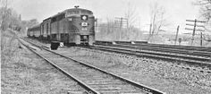 Their were extensive operations that used the main CNJ lines that ran through Catasauqua's industrial district.