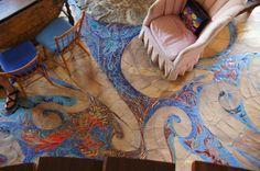 Liam Liel Mosaic Floor by James Hubble