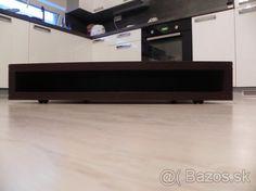 Dizajnový konferečný stolík, 90x90x17 cm - 1