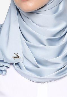 VERCATO blue Glam Diva Satin Silk Shawl 7BFDEAA1CECC7BGS_2