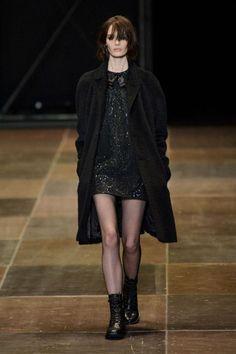 Fresh Coats: 10 Winter Coat Trends Under $300 - Saint Laurent Fall 2013