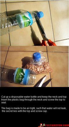 DIY watertight bag