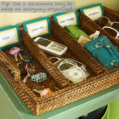 Storage & Organization Tips