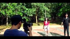 "Galias ""Maafkan cinta"" behind the scene"