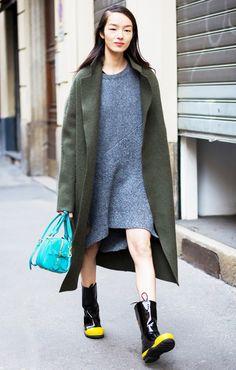 Parisienne: KNIT DRESS