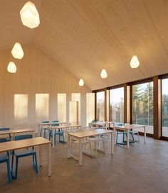 localarchitecture extends steiner school in lausanne to outdoors