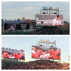 tribute to Johnny Pesky at Fenway 8.21.12