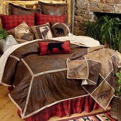 Northwoods Wilderness Bed Set - Queen