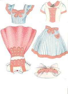 Miss Missy Paper Dolls: Polly Molly and Their Dolls 1958