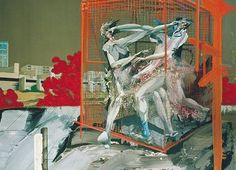 Michael Rittstein (tchèque, b. Výtah (výstup ve výtahů) [Ascenseur (Scène dans un ascenseur)], émail et huile sur toile, 100 x 124 cm. Fight Club, Michaela, Community Art, Oil On Canvas, Art Drawings, Workshop, Gallery, Painting, Collages