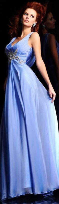 Sherri Hill couture ~ cornflour blue stunner <3