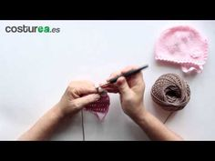 Remate bodoques en ganchillo - YouTube Crochet Borders, Crochet Stitches, Crochet Videos, Crochet For Kids, Make It Yourself, Knitting, Embroidery Ideas, Baby Dresses, Ideas