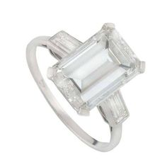 3.12 cwt Amethyst /& White Diamond Size 8 Ring set in 925 Sterling Silver