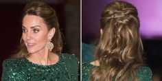 The Duchess of Cambridge is more than just a royal to us beauty-lovers, she's a hair icon. For those who favour a full bouncy blow-dry (*raises hand*) Kate's Duchess Of Cambridge, Duke And Duchess, Elegant Hairstyles, Cool Hairstyles, Afro, Bouncy Blow Dry, Emerald Gown, Hair Icon, Half Updo