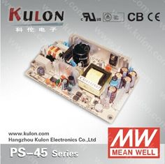 MEAN WELL Electrical Equipment & Supply PS-45-12 Switching Power Supply Single Output 45w 12v 3.7A
