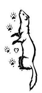 My Ferret Tattoo By Keyore Chan On DeviantART