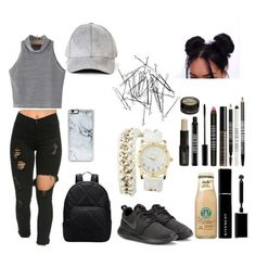 """#Dull"" by pandadonuttwin ❤ liked on Polyvore featuring NIKE, Monki, Zero Gravity, Charlotte Russe, Givenchy and Lord & Berry"