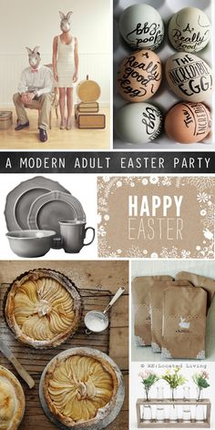 Cool Ideas for a Modern Adult Easter Party