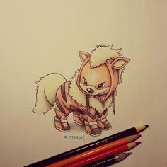 growlithe in arcanine onsie - Photo by itsbirdy