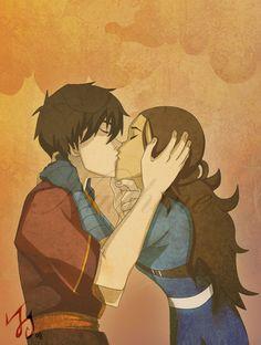 zutara kiss