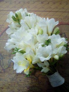 Freesias wedding bouquet Freesia Wedding Bouquet, Wedding Bouquets, Flowers, Plants, Wedding Brooch Bouquets, Bridal Bouquets, Wedding Bouquet, Wedding Flowers, Plant