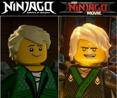#Ninjago movie vs series (by _.ninjago_is_life._ on instagram)
