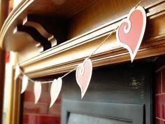 Love Hearts Bunting £9.00