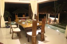 Genial M Width   This Suar Table Can Sit Two Adults On The Side For More Social  Occasion. Tropical Living Asia · Balinese Dining