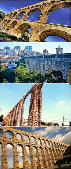 We've rounded up a dozen of the world's most distinctive aqueducts dating from the first century all the way through the last decade.