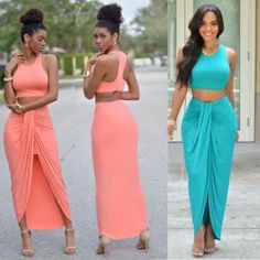 Two-Piece-Womens-Crop-Top-and-Skirt-Set-Sexy-Summer-Bandage-Bodycon-Party-Dress
