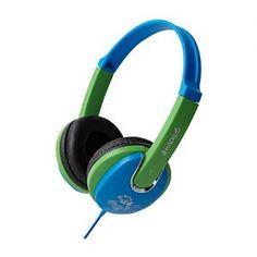 Groov-e Kiddies Headphone with Volume Limiter - Blue/Green