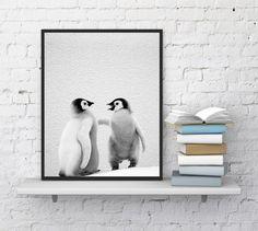 Penguins Print Penguins Wall Art Penguins by InstantDownloadArt1