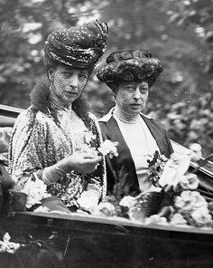 Queen Alexandra & Princess Victoria