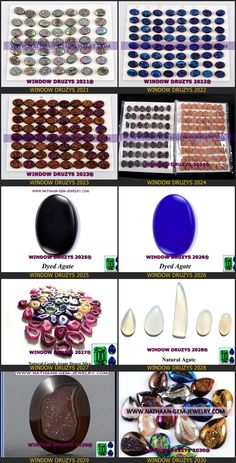 Nautal Titanium Coated Window Druzy Agate Cabochan Drusy gemstones Available at Direct wholesale Factory prices 7 from nathaan-gem-jewelry