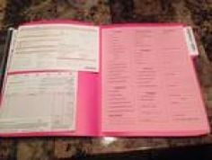 Mary kay folders