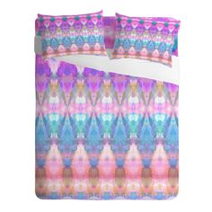 Amy Sia Tribal Diamonds Pastel Pink Sheet Set   DENY Designs Home Accessories