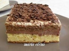 Summer Desserts, No Bake Desserts, Easy Desserts, Delicious Desserts, Sweet Recipes, Cake Recipes, Dessert Recipes, Romanian Desserts, Homemade Sweets