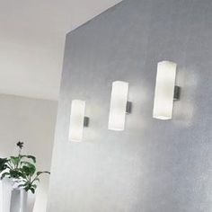 Carre Wall Sconce by De Majo. Wall sconces I just bought for our master bath!