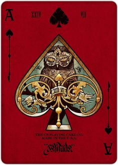Ace of Spades - REQUIEM PLAYING CARDS DECK