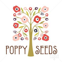 poppy seeds tree gifts & decor | StockLogos.com